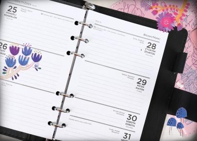 Manažerský diář nejen s týdenním plánováním