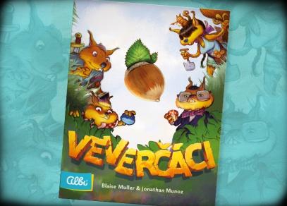 Veverčáci - karetní hra od Albi