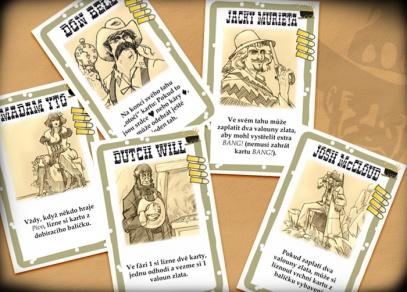 V rozšíření je i 8 nových postav a karta role stínového odpadlíka...