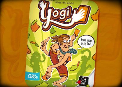 YOGI - karetní párty hra od Albi