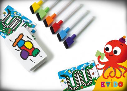Kvído - Závod barev od Albi