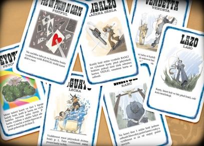 Patnáct nových karet ke hře Bang!