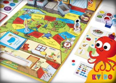 KVÍDO - OBCHOD - dětská hra od Albi