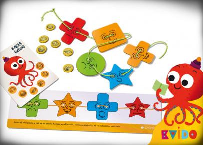 KVÍDO - Smajlíci na šňůrce - hra pro děti od Albi