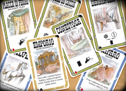 Nové akční karty z rozšíření Město duchů