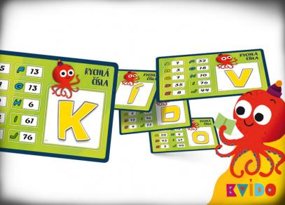KVÍDO - Rychlá čísla - hra od Albi