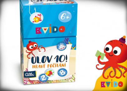 KVÍDO - ULOV 10 - dětská hra od Albi