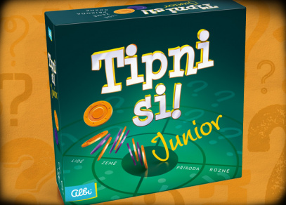 TIPNI SI! JUNIOR - dětská párty hra od Albi
