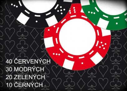 Potřebujete více žetonů na vaše pokerové turnaje?