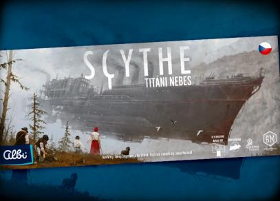 SCYTHE - TITÁNI NEBES - rozšíření základní hry Scythe
