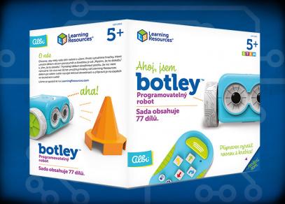 BOTLEY ROBOT - programovatelný robot od Albi