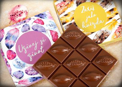Mléčná čokoláda potěší každou kamarádku