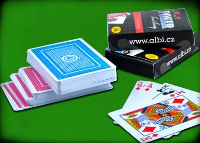 Plastové karty na poker s dlouhou životností
