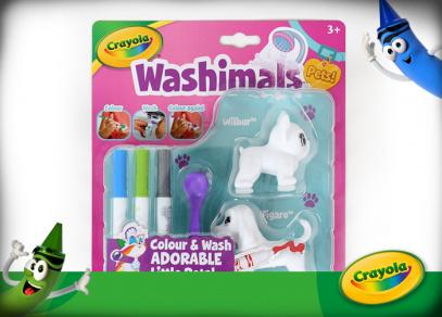 WASHIMALS - kreativní sada Crayola - najdete u Albi