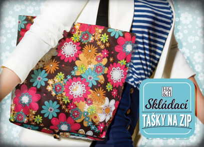 Květinový vzor na taškách rozjasní váš outfit