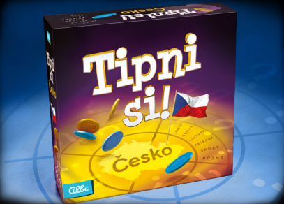 TIPNI SI! ČESKO - párty hra od Albi