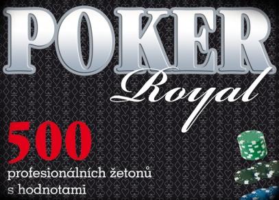 Královská pokerová sada - největší v nabídce ALBI