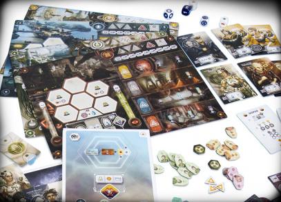 ANACHRONY - náročná strategická hra od Albi