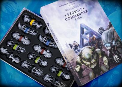 ANACHRONY - EXOSUIT COMMANDER PACK od Albi
