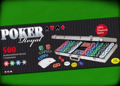 Titulní strana pokerové sady Royal