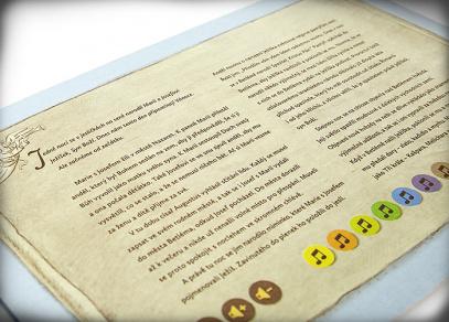 Betlém - interaktivní model z edice Kouzelné čtení