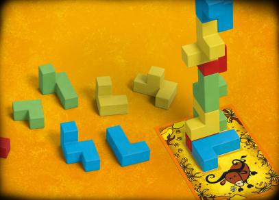 UBONGO JUNIOR 3D - hra od Albi
