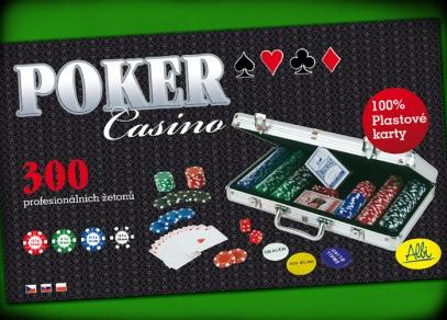 Poker Casino - titulní strana hry