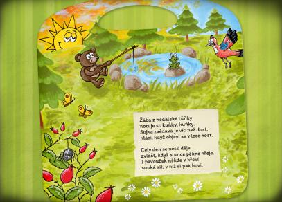 BÁSNIČKY Z LESA - kniha z edice Kouzelné čtení