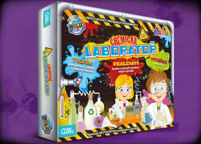 Chemická laboratoř - experimentální sada od Albi