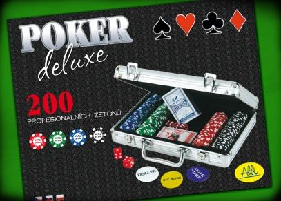Poker deluxe - titulní strana