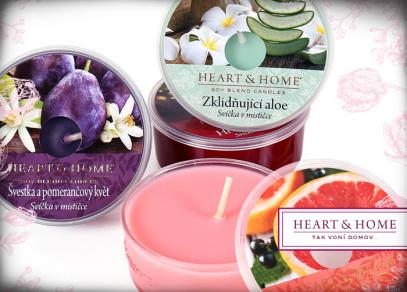 Heart & Home svíčky v mističce