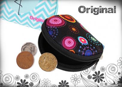Minipeněženky Original s motivem arabesek