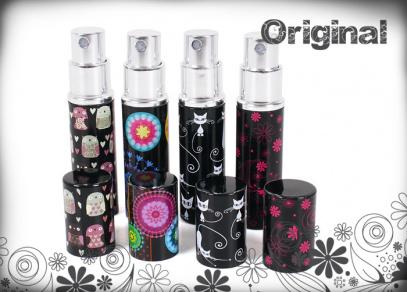 Motivy z kolekce Original i na flakonech na parfém