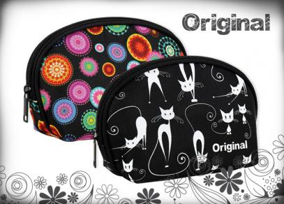 Jednoduchá oválná taštička v designech Original
