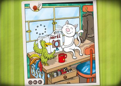 Zvířátka v ZOO - mluvící kniha od Albi