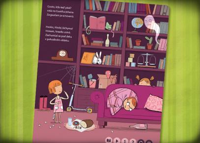 Když myšky šeptají - kniha z edice Kouzelné čtení