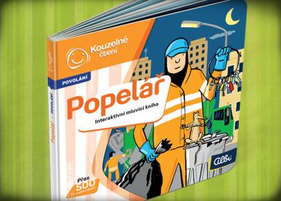 Minikniha Popeláře - edice Kouzelné čtení