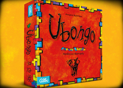 Ubongo - rodinná hra od Albi