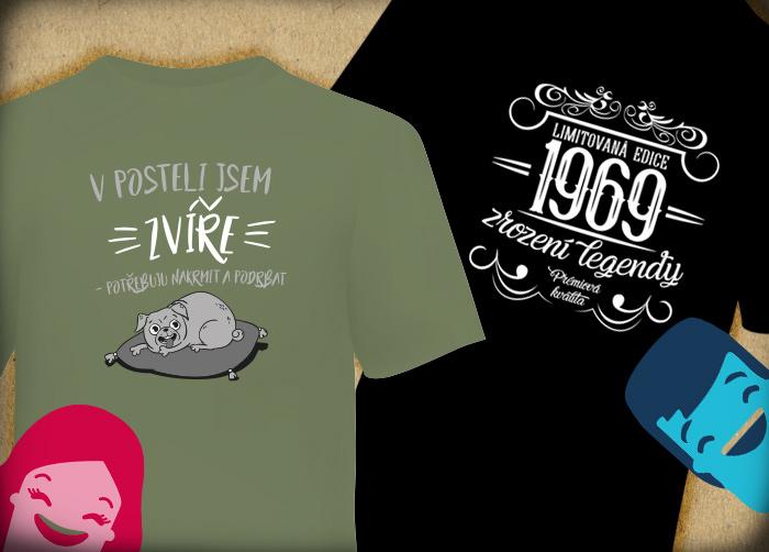 cdfe6a9e9c9 ... Humorná trička - Skvělý dárek pro muže.