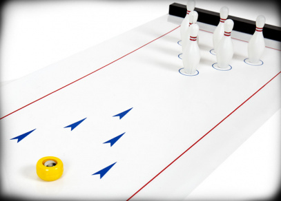Stolní bowling - hra od Albi