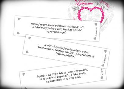 Mini laškování - Svatba - hra od Albi