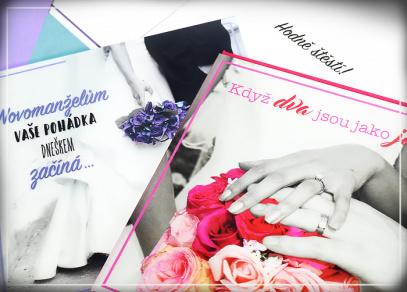 Netradiční přání pro novomanžele