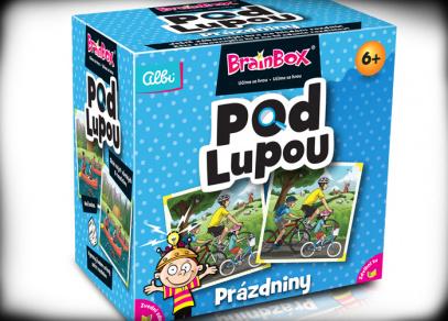 Brainbox Pod lupou - Prázdniny