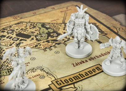 Gloomhaven - fantasy hra od Albi
