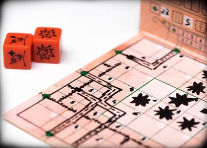 Railroad Ink - rodinná hra od Albi