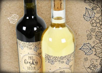 Potěšte své blízké vínem s věnováním