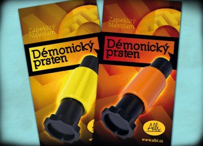 Dvě varianty obtížnosti Démonického prstenu - jednodušší žlutá nebo obtížnější oranžová