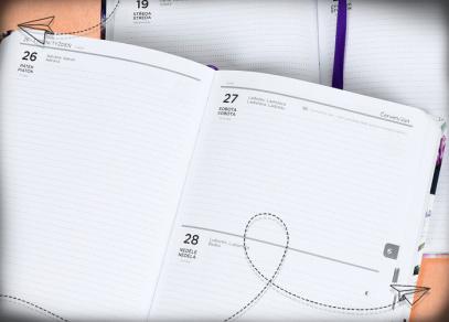 Prostorné denní kalendárium
