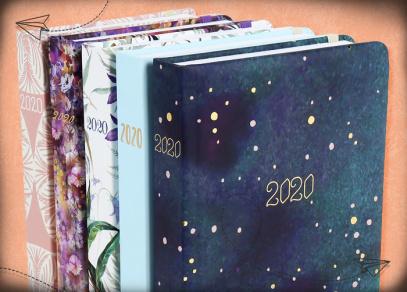 Denní diáře z kolekce ALBI pro rok 2020