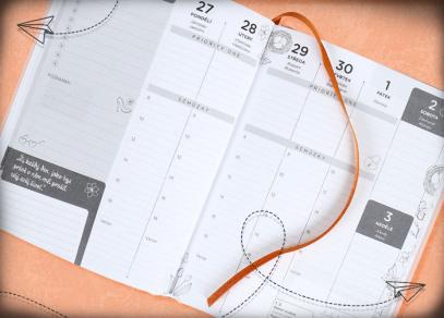 Zbrusu nové kalendárium v týdenních diářích od ALBI